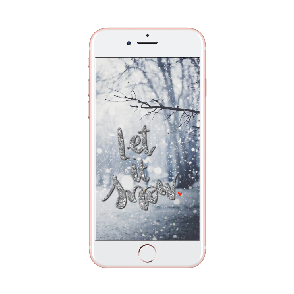 Let it Snow -- Lock Screen (Free)