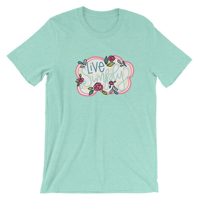 Live Simply -- Short-Sleeve Unisex T-Shirt