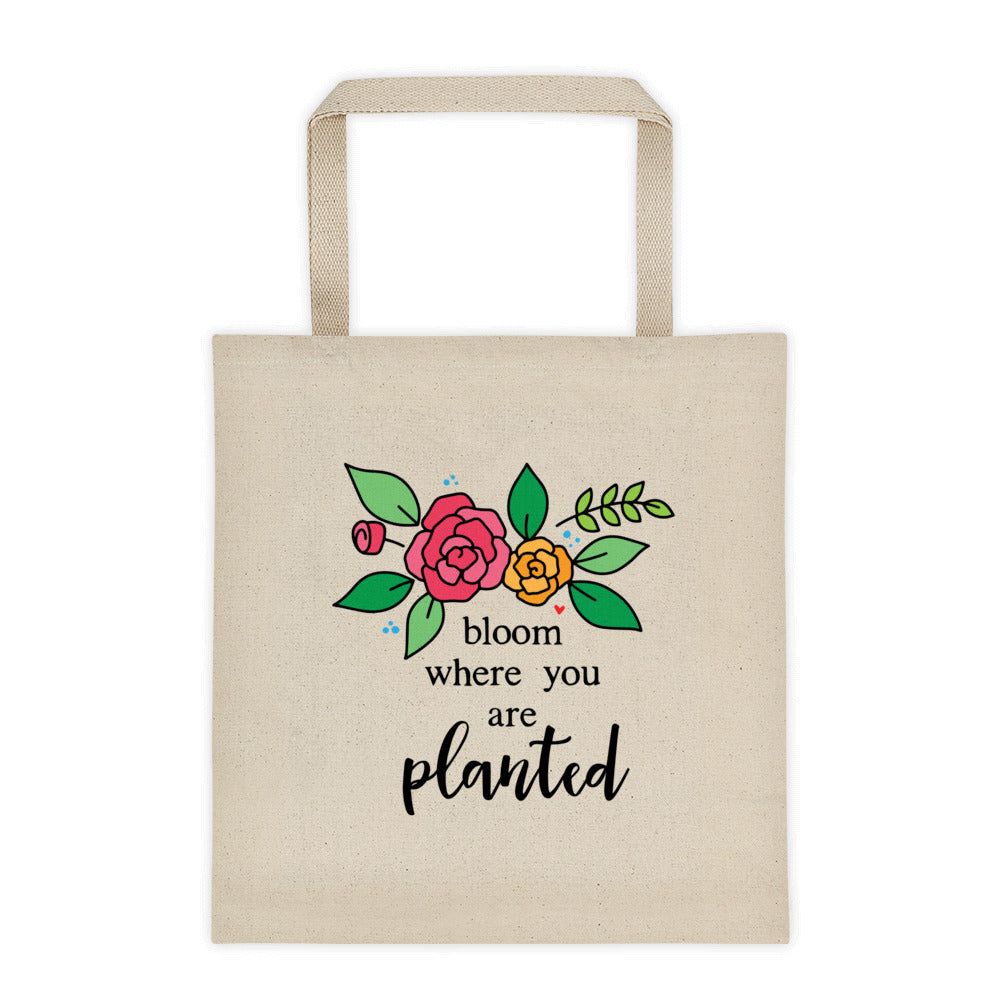 Bloom -- Tote bag
