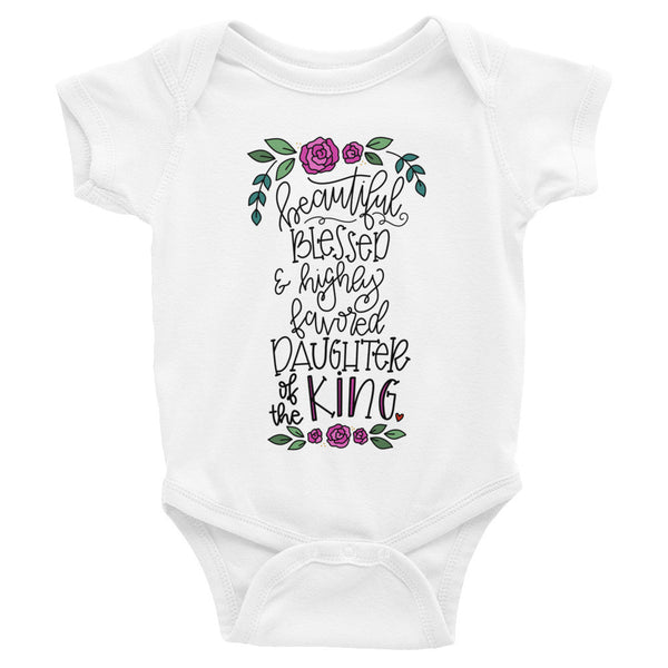 Daughter of the King -- Infant Onesie