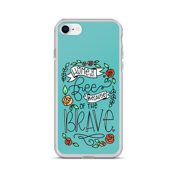 Home of the Free -- iPhone Case