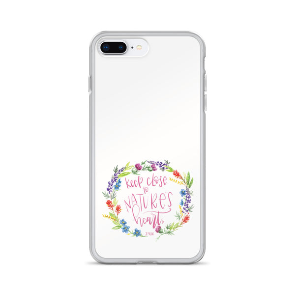 Nature's Heart -- iPhone Case