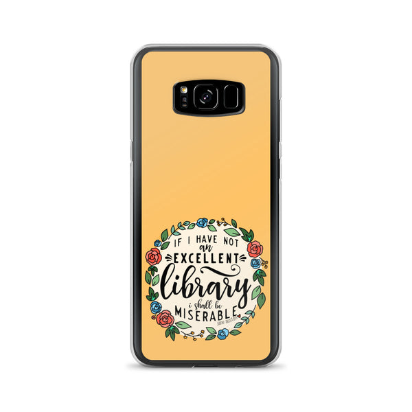 Excellent Library -- Samsung Case