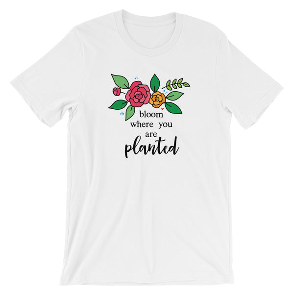 Bloom -- Short-Sleeve Unisex T-Shirt