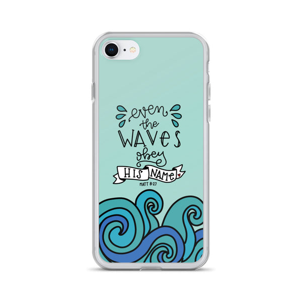 Even the Waves -- iPhone Case