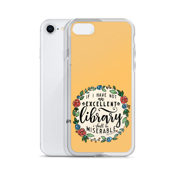 Excellent Library -- iPhone Case