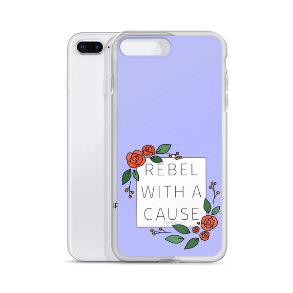Rebel With a Cause -- iPhone Case