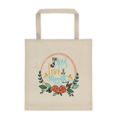 The Joy of the Lord -- Tote bag