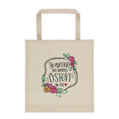 Training Tiny Humans -- Tote bag