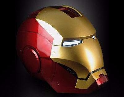 Iron Man Helmet (Remote Control+ Touch Sensor)