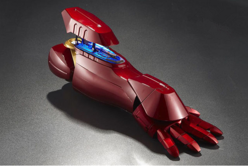 Iron Man Rocket Arm (Remote Control + Finger Sensor)