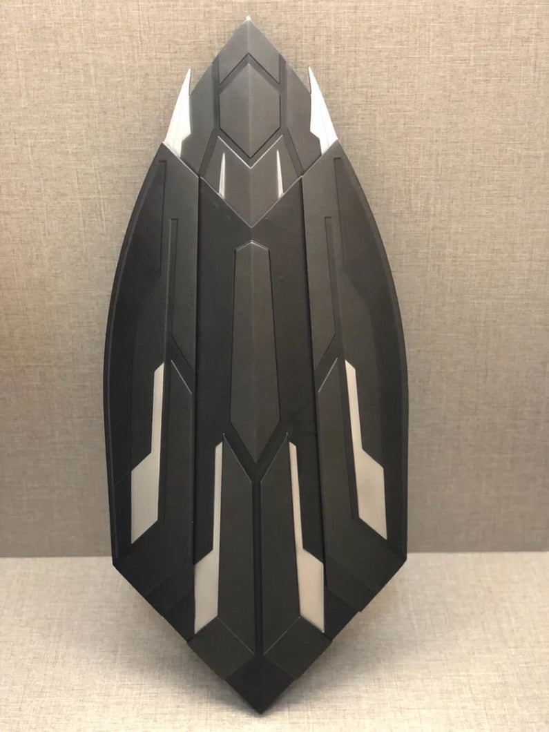 World's First Mechanical Captain America Wakandan Shield (100% Metal)