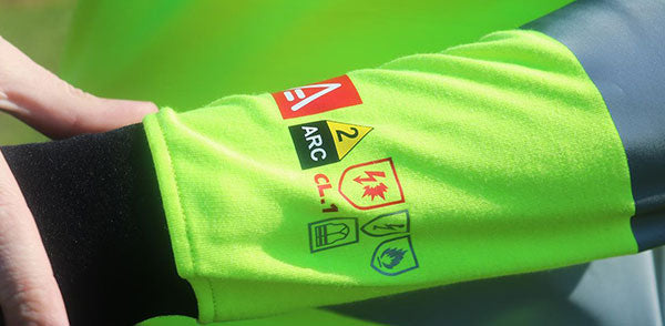 Arc Hi-Viz Poloshirt Certifications