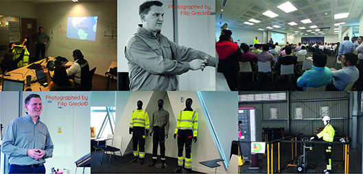 Arc Flash Training Collage
