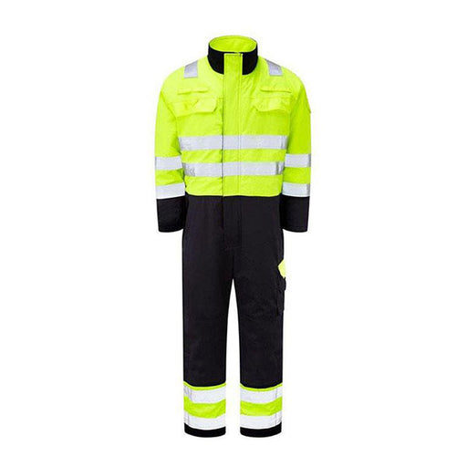 ARC Hi-Viz Lined Winter Overall (CL.2/ARC4/ATPV 40) - Skanwear®