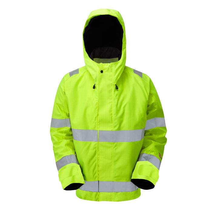 STRATA® ARC Hi-Viz Waterproof Winter Jacket (CL.2/ARC2/ATPV 24.1) - Skanwear®