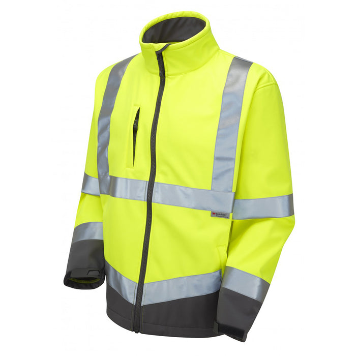 Interactive Hi-Viz Softshell Jacket