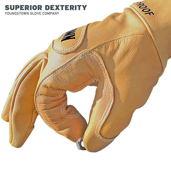 Lined Waterproof Leather Utility Glove (50cal/cm²) (3)