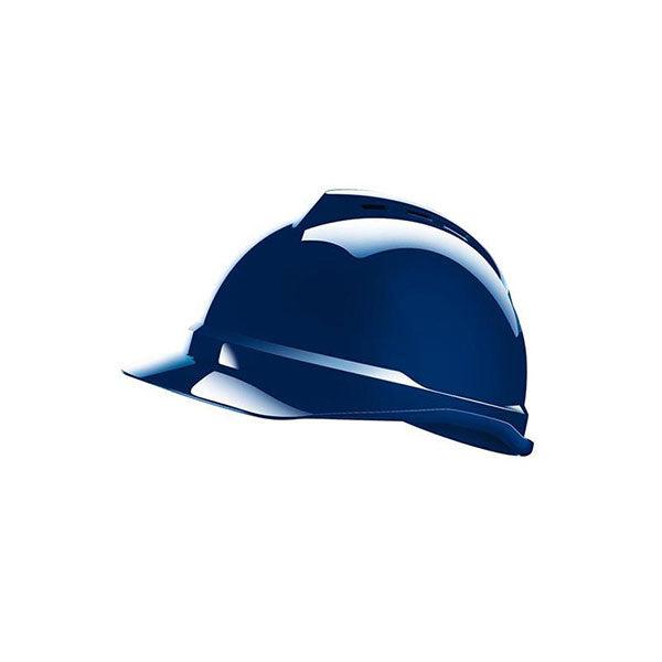MSA V-Guard Helmet Blue
