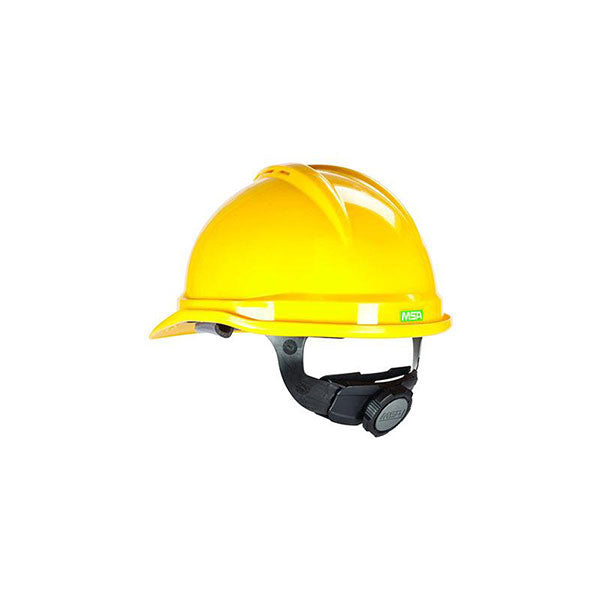 MSA V-Guard Helmet Yellow