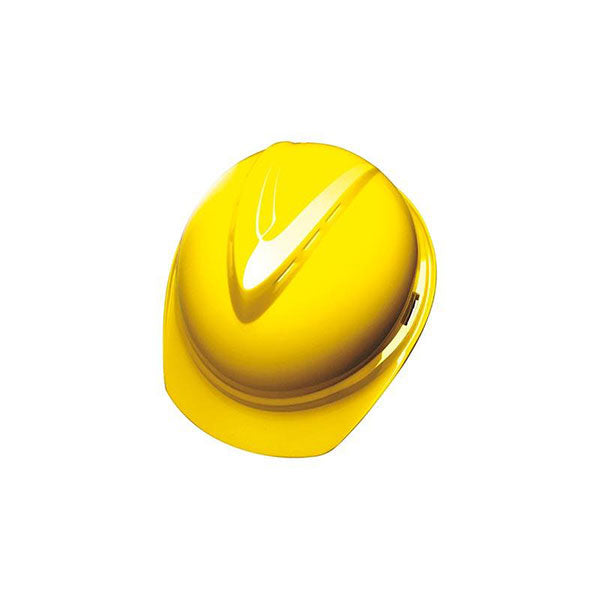 MSA V-Guard Helmet Yellow Top