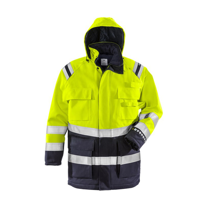 Hi-Viz Winter Parka (CL.2/ARC3/ATPV 34) - Skanwear®