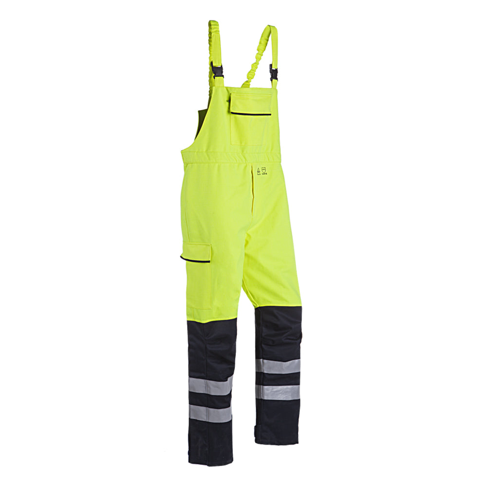 ARC Hi-Viz Waterproof Salopettes (CL.2/ARC4/ATPV 40.5) - Skanwear®