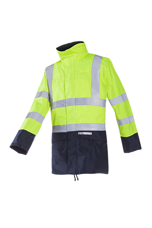 FR/AS Hi-Viz Parka Jacket - Skanwear®