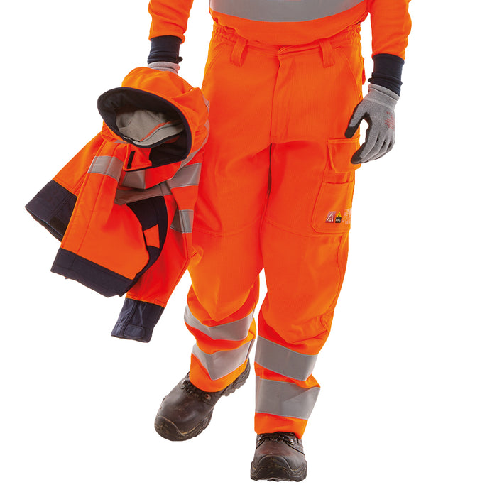STRATA® ARC Hi-Viz RIS-3279 Trousers (CL.1/ARC2/ATPV 12)