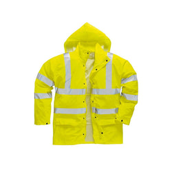 FR/AS Hi-Viz PU Jacket