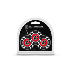 Calgary Flames 3 Pack Golf Chips