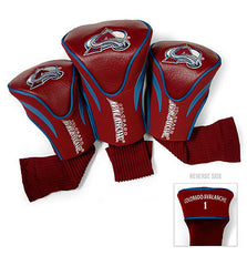 Colorado Avalanche 3 Pk Contour Sock Headcovers
