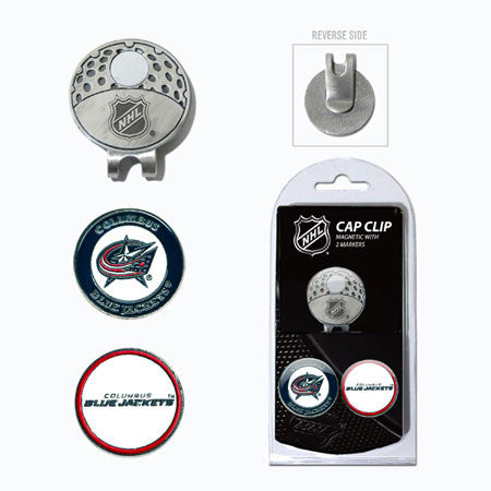 Columbus Blue Jackets Cap Clip