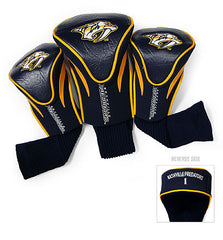 Nashville Predators 3 Pk Contour Sock Headcovers