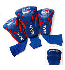New York Rangers 3 Pk Contour Sock Headcovers