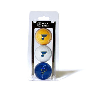St. Louis Blues Golf Balls 3 Pack