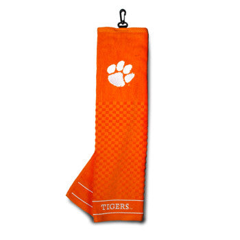 Clemson Embroidered Towel