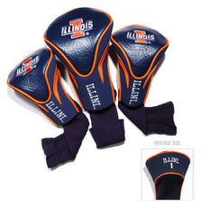 Illinois 3 Pk Contour Sock Headcovers