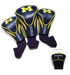Michigan 3 Pk Contour Sock Headcovers