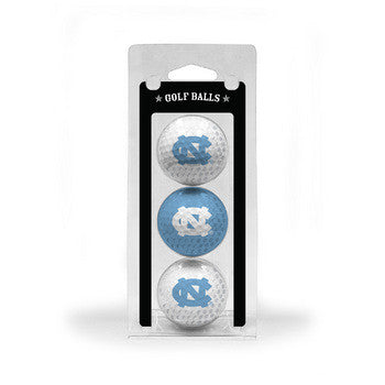 North Carolina Golf Balls 3 Pack