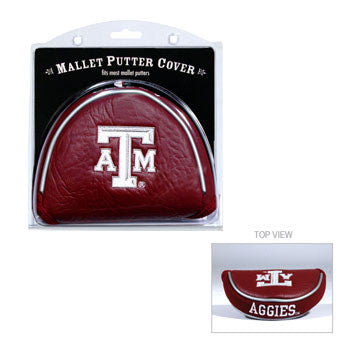 Texas A&M Mallet Putter Cover