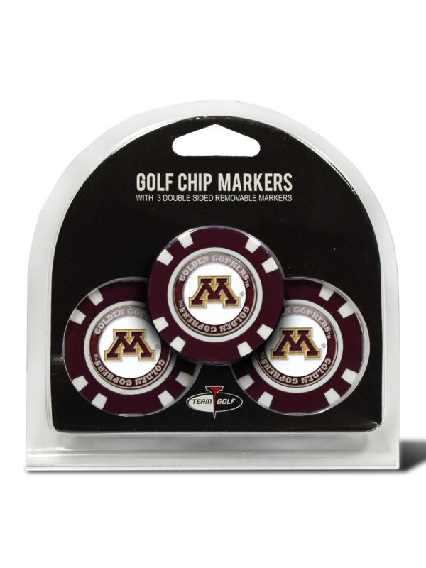 Minnesota 3 Pack Golf Chip Ball Markers