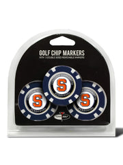 Syracuse 3 Pack Golf Chip Ball Markers