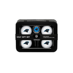 Carolina Panthers 4 Ball Tin Gift Set