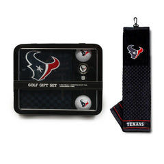 Houston Texans Embroidered Towel Tin Gift Set