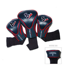 Houston Texans Contour Sock Headcovers (3 pack)