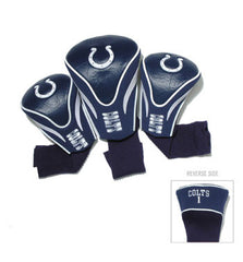 Indianapolis Colts Contour Sock Headcovers (3 pack)