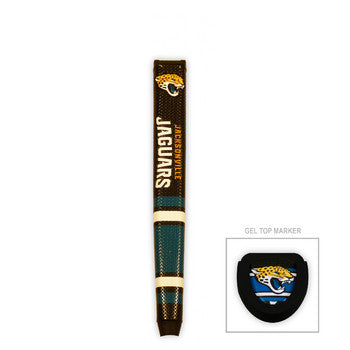 Jacksonville Jaguars Golf Putter Grip