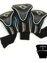 Jacksonville Jaguars Contour Sock Headcovers (3 pack)