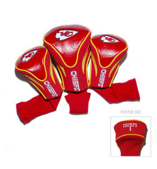 Kansas City Chiefs Contour Sock Headcovers (3 pack)